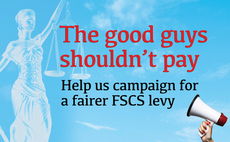 The good guys shouldn't pay: Help PA campaign to change FSCS levy system