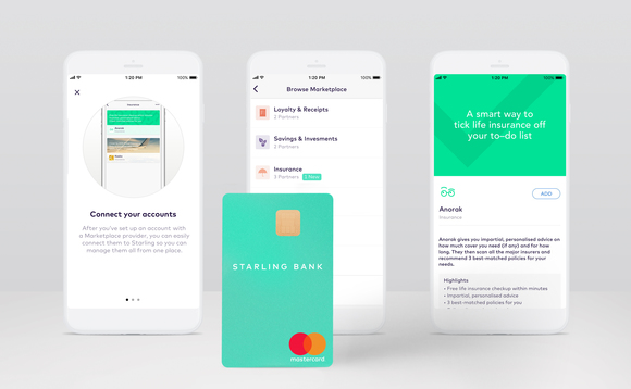 Anorak teams up with open banking app Starling
