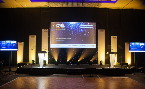 COVER Excellence Awards 2019, Thursday 10 October, The Brewery, London