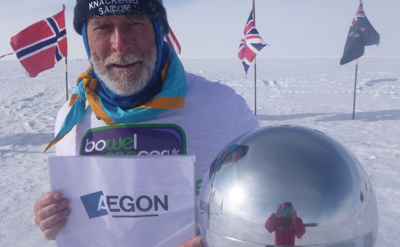 Adviser in the Antarctic is first Seven Families ambassador